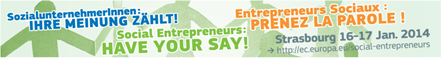 Picture of Have your say!  Kick-off of the event for social entrepreneurship in Strasbourg 2014